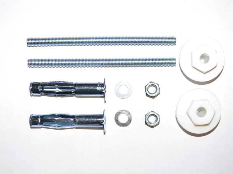 KEW Waschtisch-Befestigung mit M8 x 16 Metallspreizdübel , für Trockenbau KEW-31086